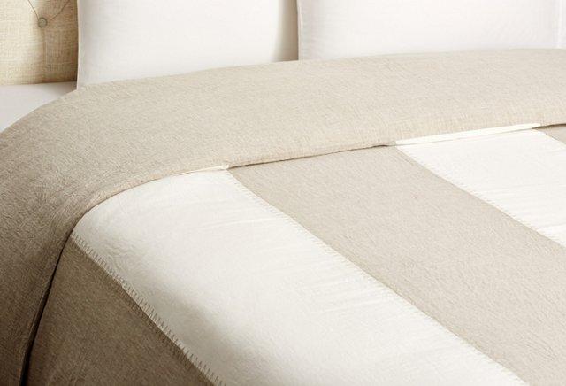 Luka Striped Organic Duvet