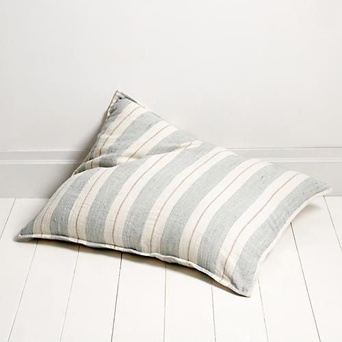 Laguna 28x36 Pillow, Ocean/Natural