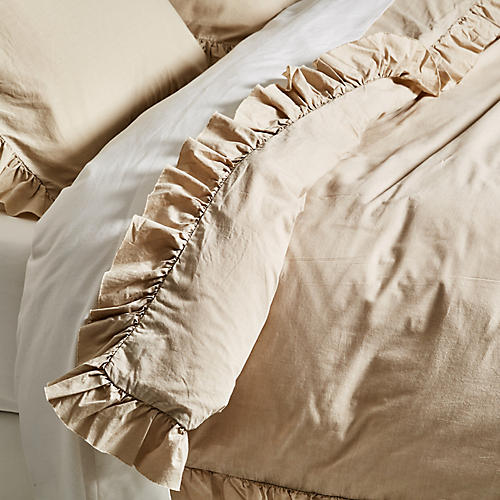 Madison Duvet Set, Taupe