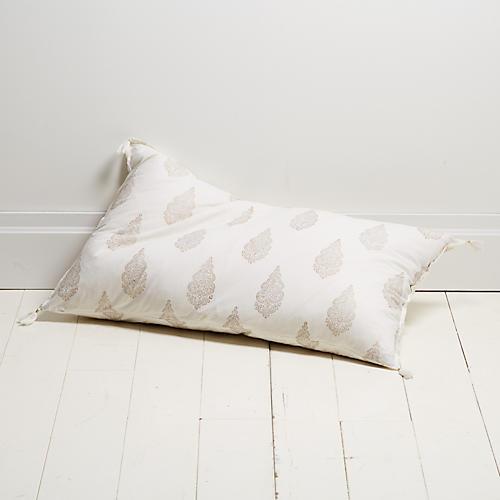 Siya 20x36 Lumbar Pillow, Gold