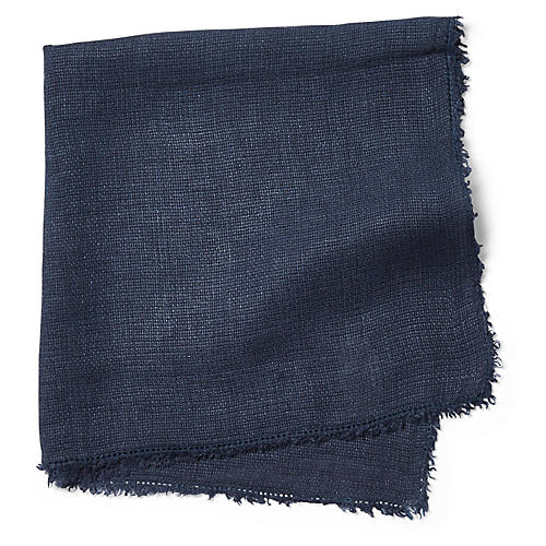S/4 Carmel Dinner Napkins, Navy