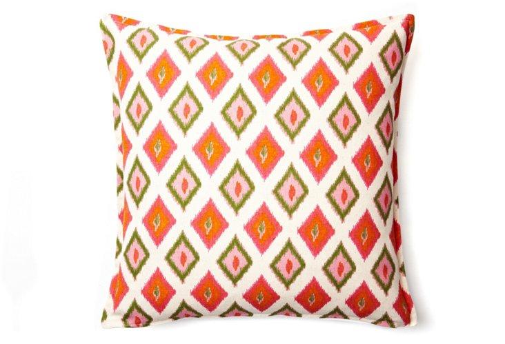 Diamonds 16x16 Pillow, Pink