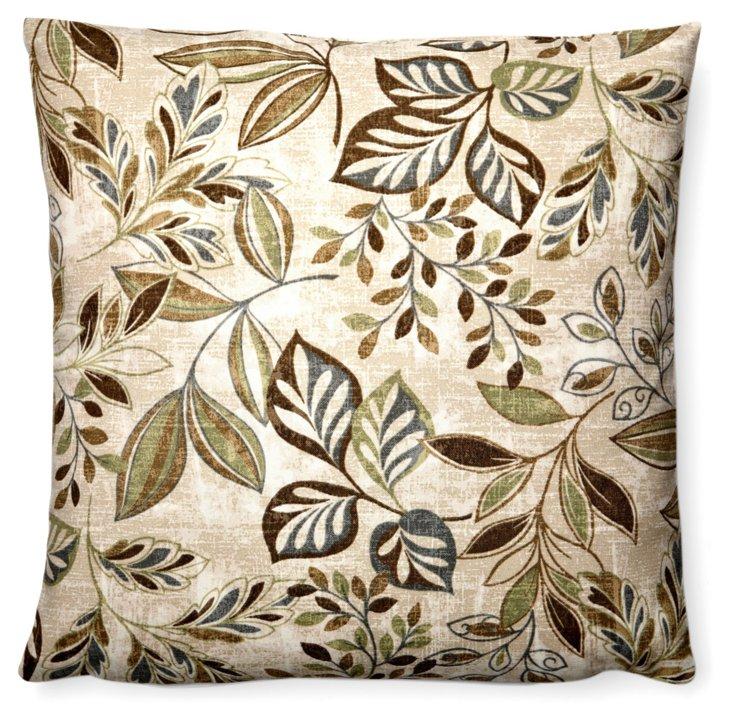 Spring 20x20 Outdoor Pillow, Green