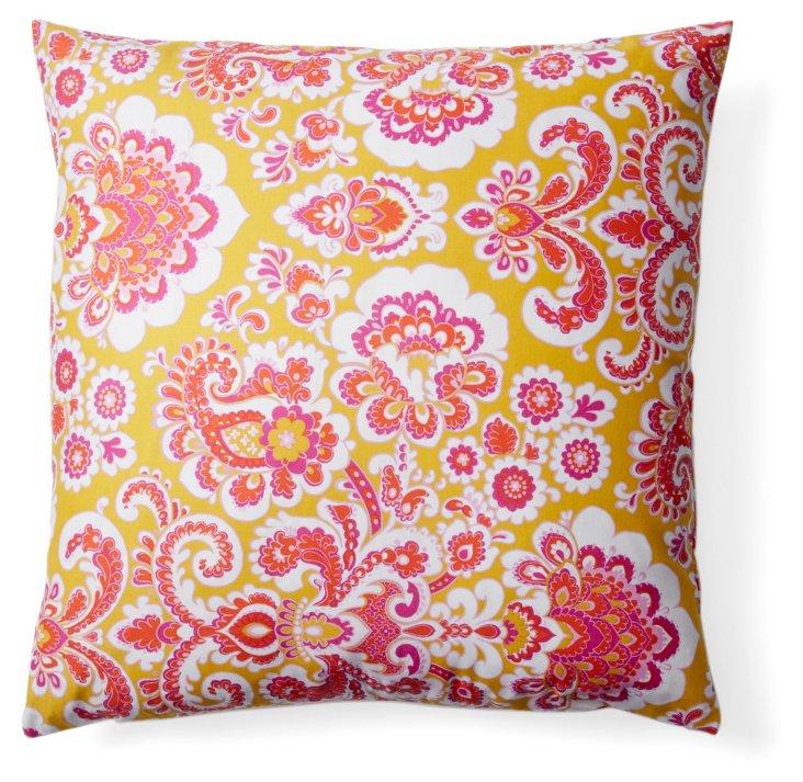 Regal 20x20 Cotton Pillow, Pink
