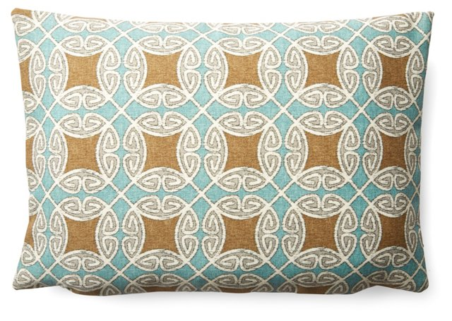 Linked 12x18 Pillow, Multi