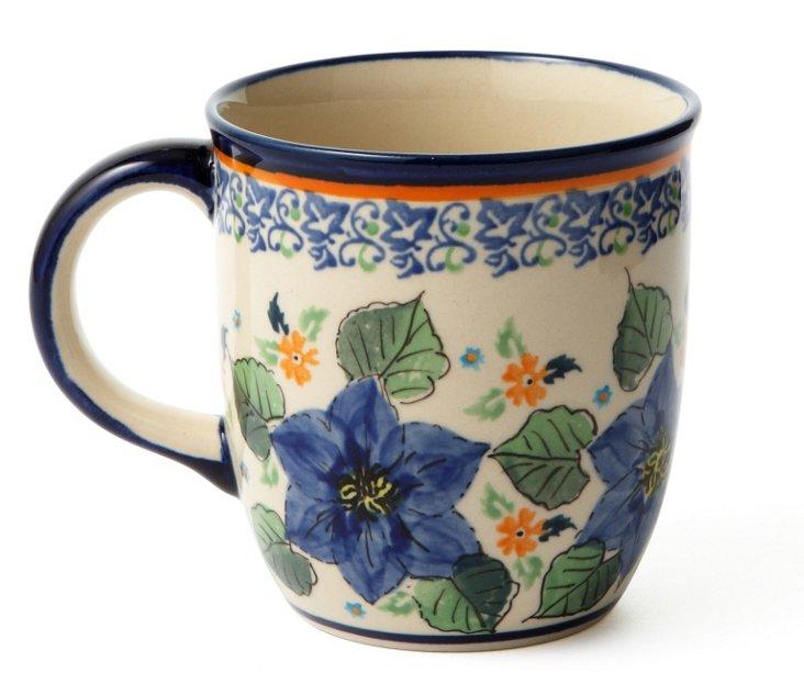 Coffee Mug, Blue Azalea