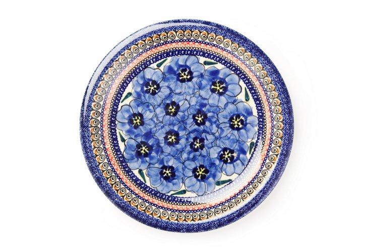 "Stoneware Dinner Plate, 10.5"""