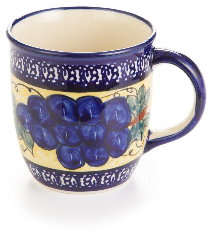 Straight Mug, Grapes