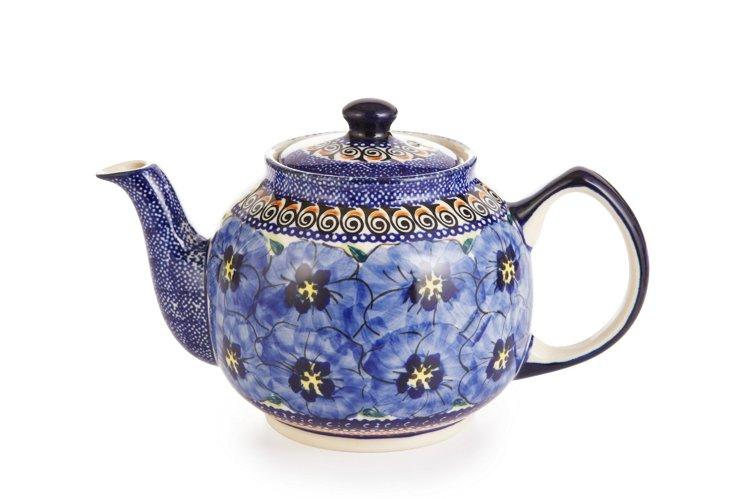 Small Stoneware Teapot, 1 Qrt