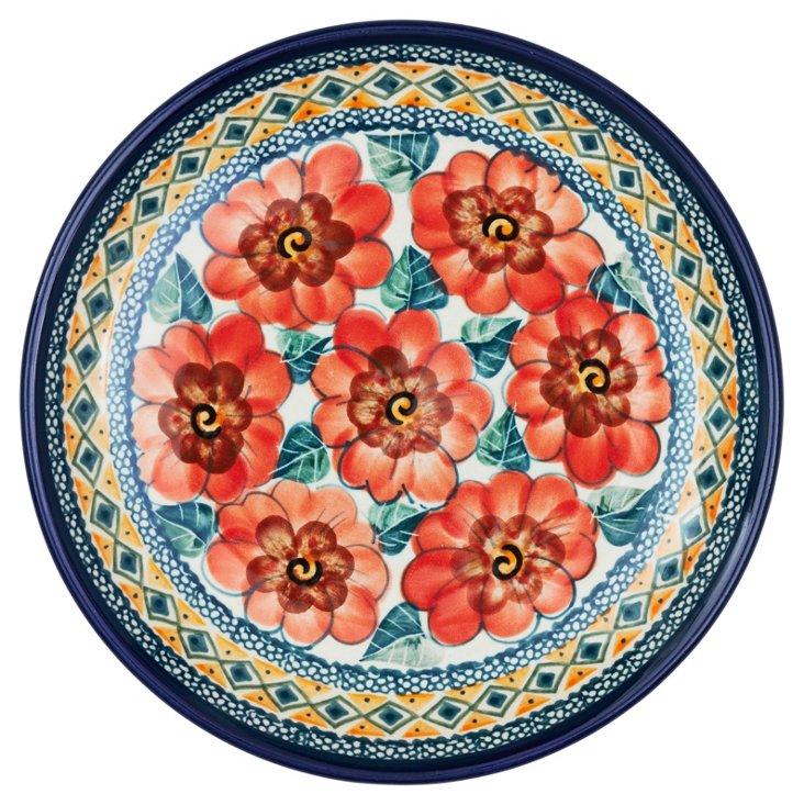 Salad Plate, Poppy