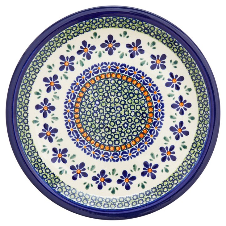 """Stoneware Lunch Plate, 9.5"""""""