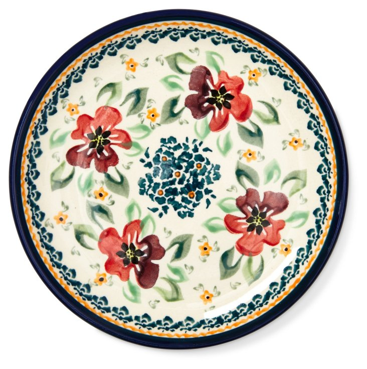 Amber Fields Bread Plate