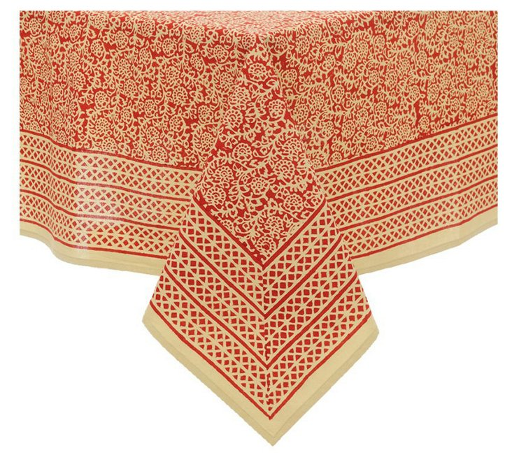 Lucy Tablecloth, Crimson