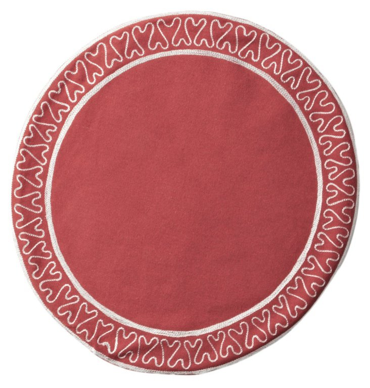 S/4 Giselle Place Mats, Clay