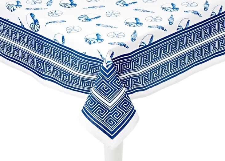 Sea Shell Table Cloth