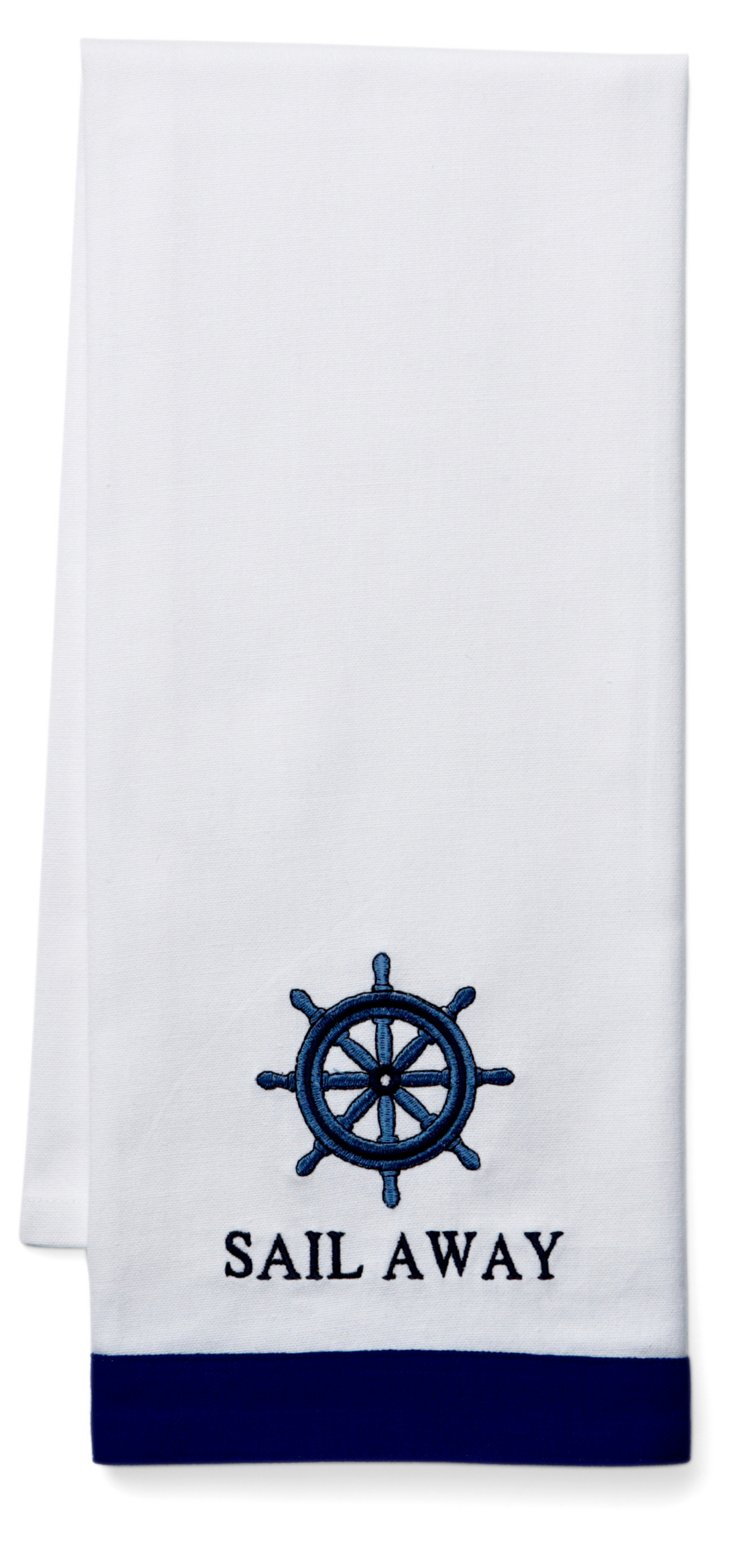 S/2 Sail Away Hand Towels