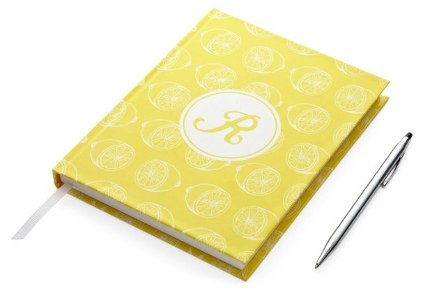 Hardcover Journal, Yellow