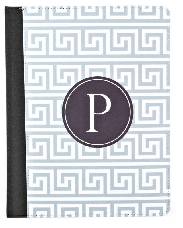 iPad Case, Black/White/Gray