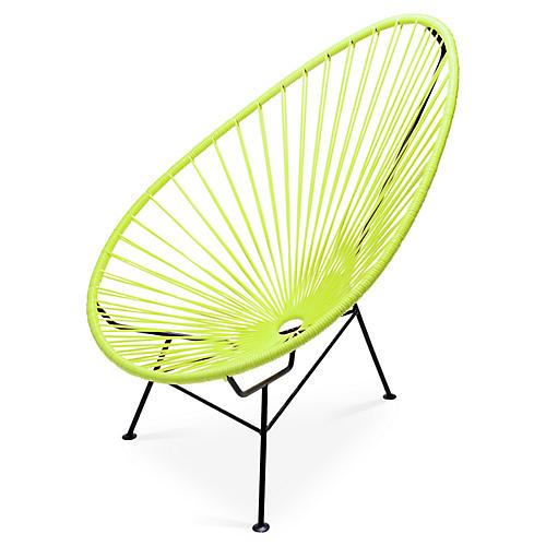 Acapulco Lounge Chair, Apple Green