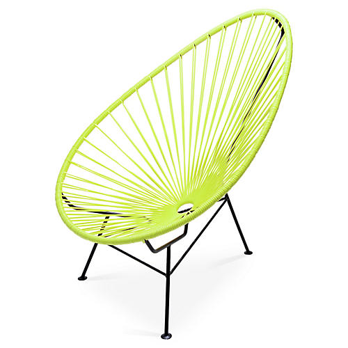 Acapulco Lounge Chair, Apple Green