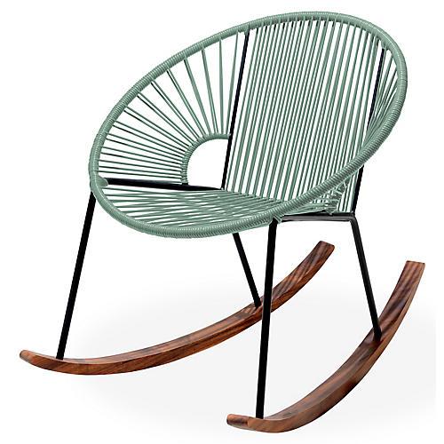 Ixtapa Rocking Chair, Olive Green
