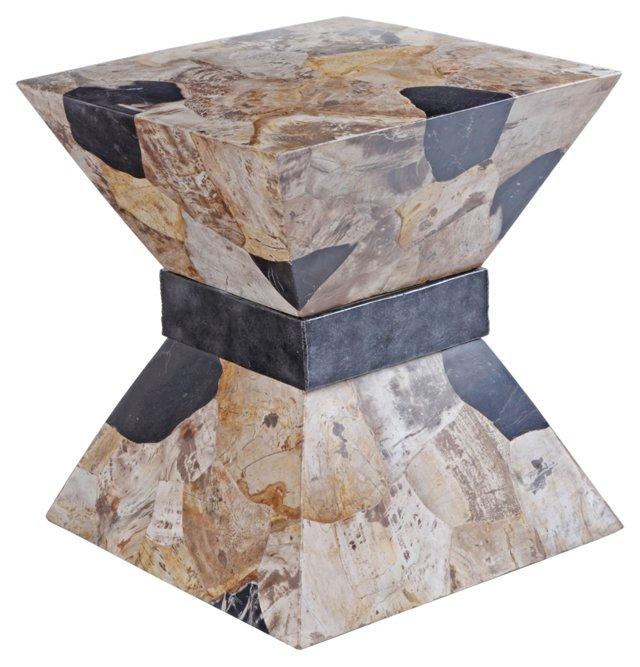 Petrified-Wood Buncher Table