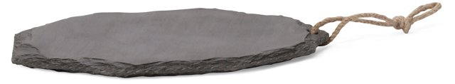 Slate Cheese Platter, Gray