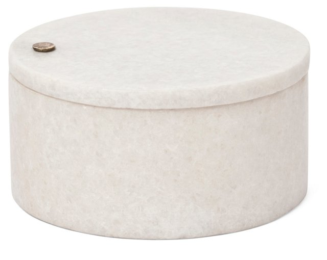 Marble Salt & Pepper Container