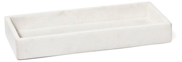 Marble Tray, White