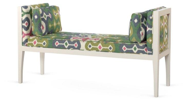 Tulla Bench, Emerald/Multi