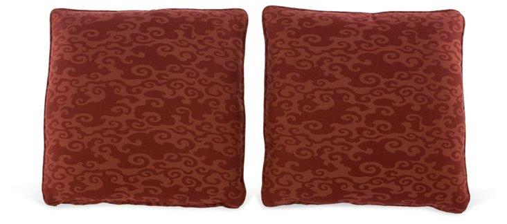 Milton Throw Pillows, Pair