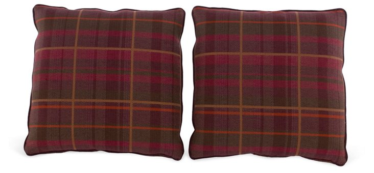 Milly Throw Pillows, Pair