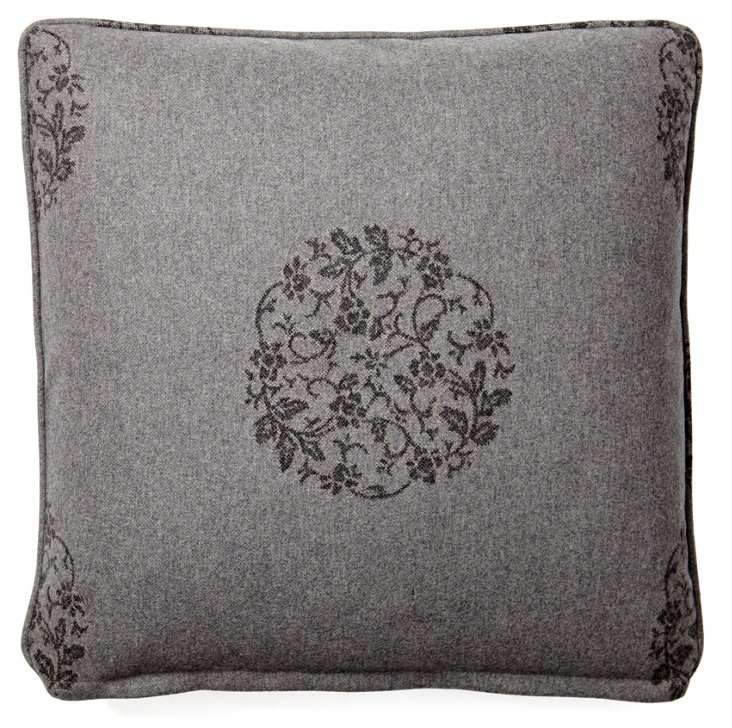 Desiree 20x20 Wool Pillow