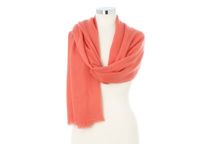 Cashmere Wrap, Porcelain Rose