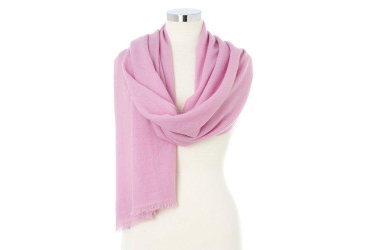 Cashmere Wrap, Pink Lavender