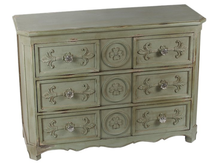 Swift Accent Chest, Green/Gray