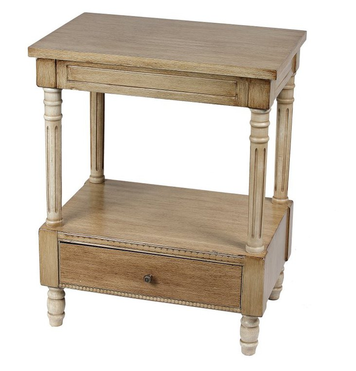Bennett Accent Table, Natural