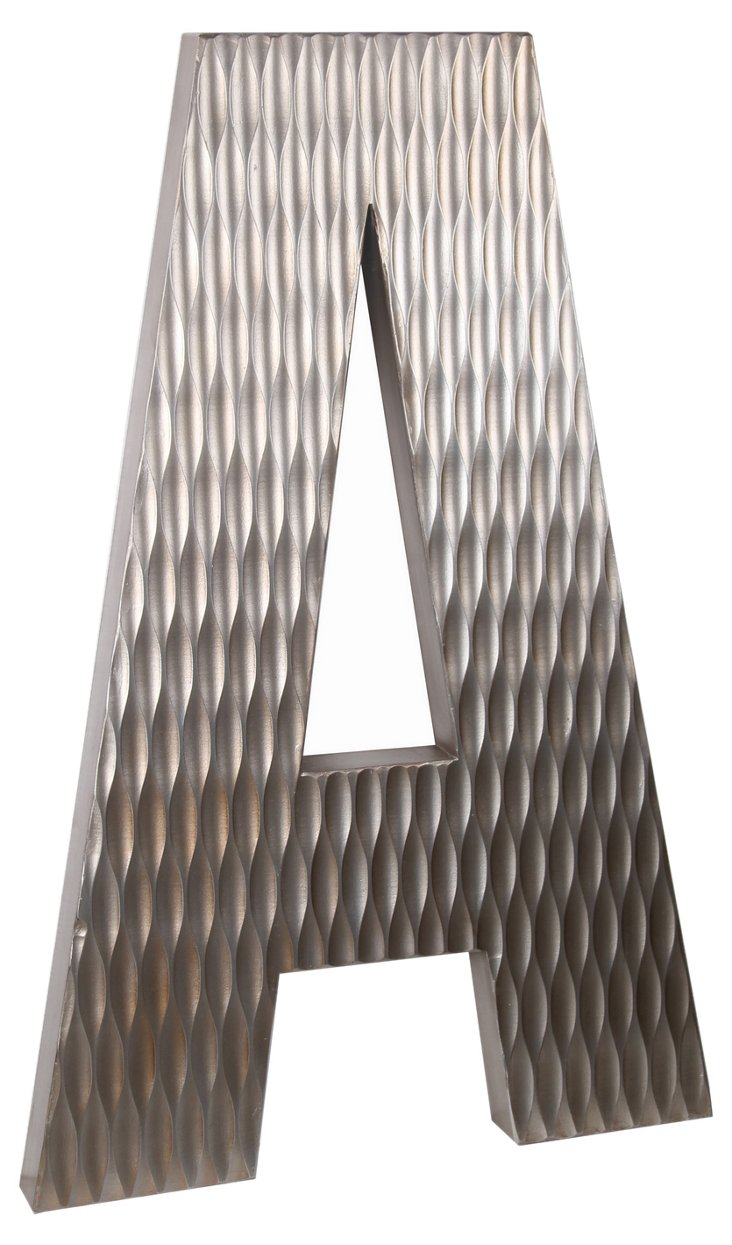 Large Wood Letter, A Design