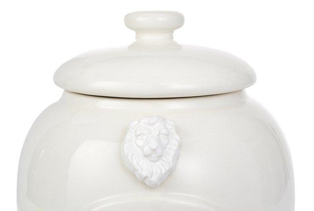 Lion Cookie Jar Magnet