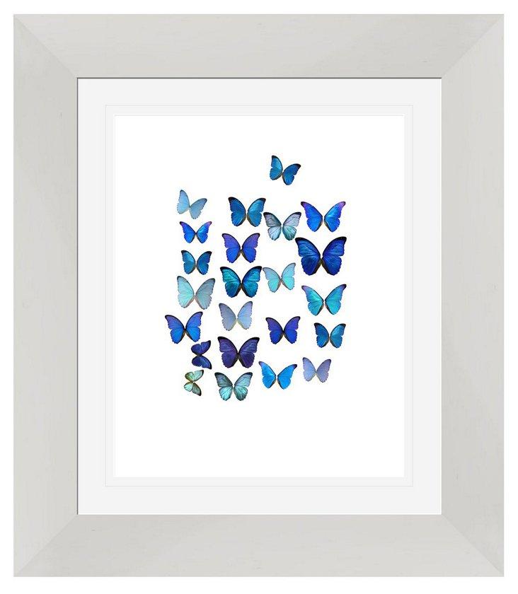 Butterflies Beauty Print I
