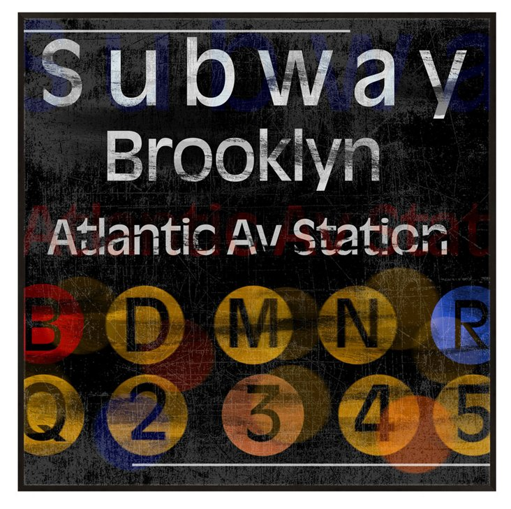 Brooklyn Subway Print