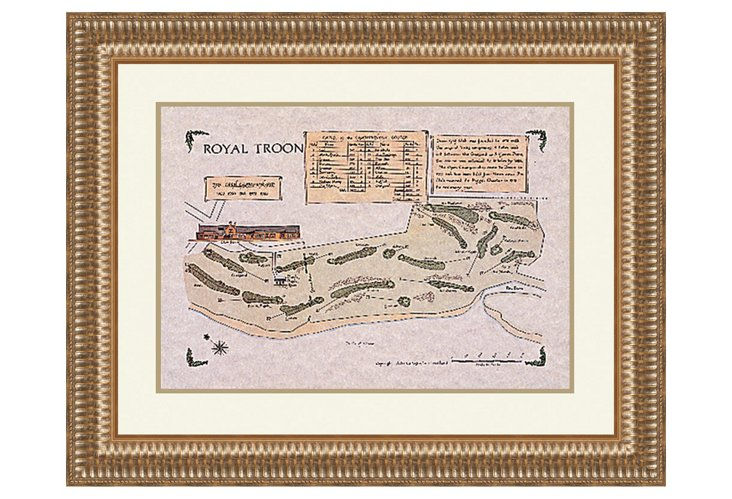 Royal Troon Course Map