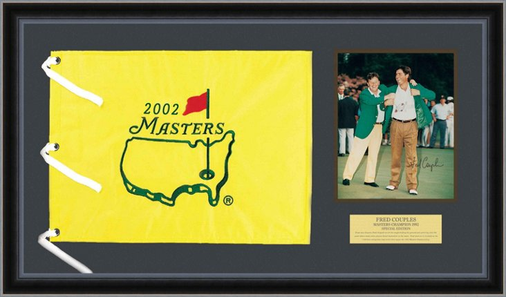 Fred Couples Autographed Masters