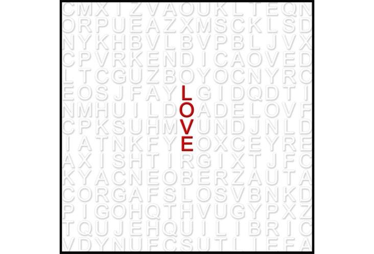Love 20x20 Print