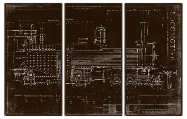 Locomotive Triptych