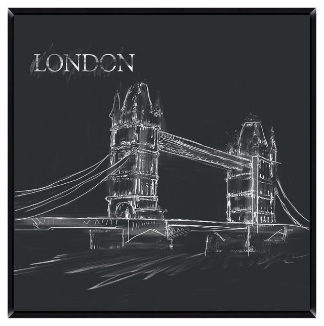 London Giclée on Laminate Box