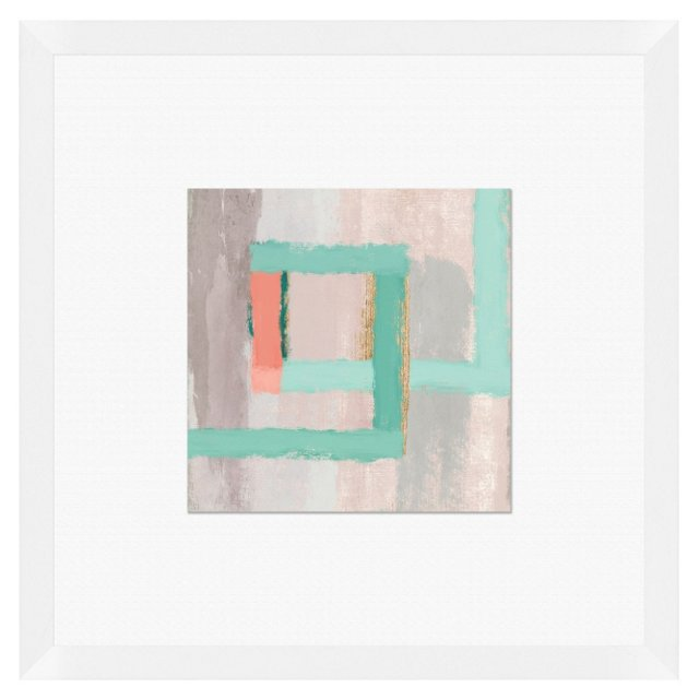 Squared III Print