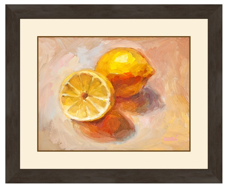 Lemon Still Life Print