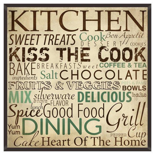 Kitchen Treats Print I
