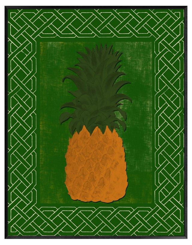 Pineapple Print I